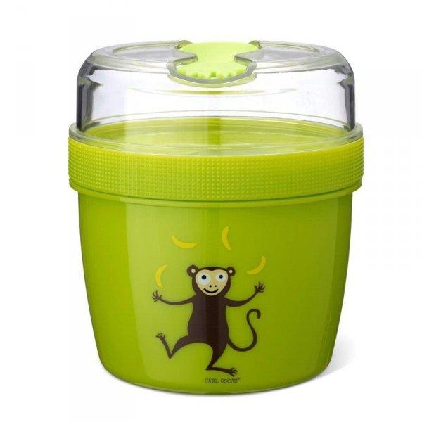 Pojemnik śniadaniowy z wkładem chłodzący - Zielona Małpka