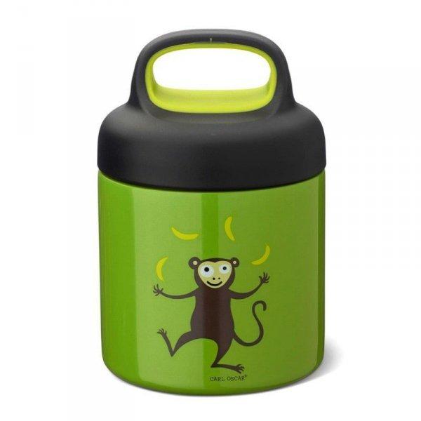 Termos ze szlachetnej stali nierdzewnej - Zielona Małpka