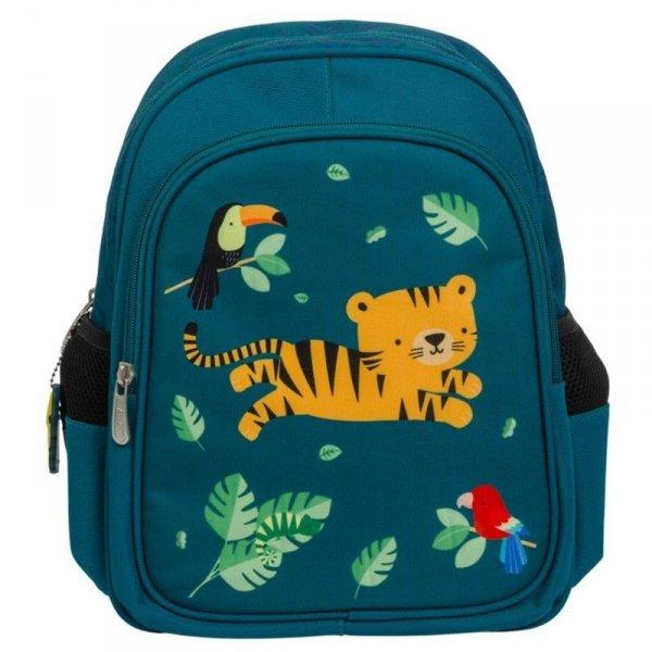 Plecak Tygrysek w kolorze niebieskim