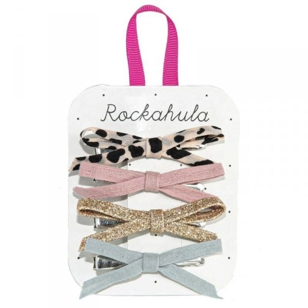 Rockahula Kids - spinki do włosów dla dziewczynki Lily Leopard