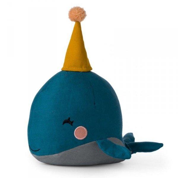 Przytulanka dla dziecka Pan Wieloryb 21 cm w Luksusowym Pudełku Upominkowym - Picca LouLou