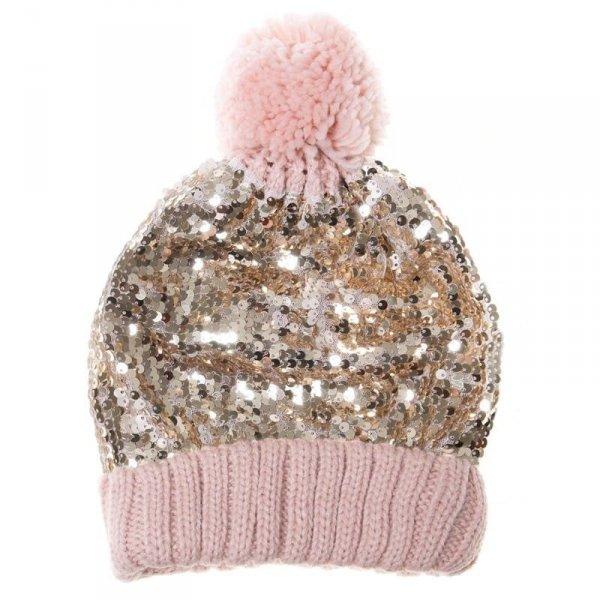 Rockahula Kids - czapka zimowa Shimmer Sequin 3 - 6 lat