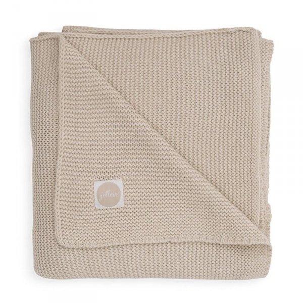 Kocyk tkany 75 x 100 cm Basic Knit TOG 1.0 NOUGAT -Jollein