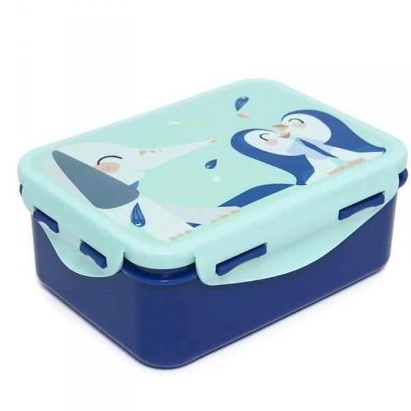 Śniadaniówka -  Lunchbox -  Słoń i Pingwiny