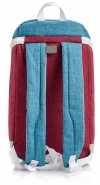 Plecak termiczny METEOR ARCTIC 10L czerwono-niebieski