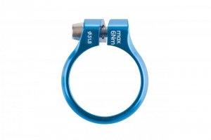 Obejma ACCENT Execute 31,8 mm niebieska anodowana