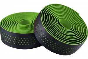 Owijka kierownicy MERIDA czarno-zielona + korki