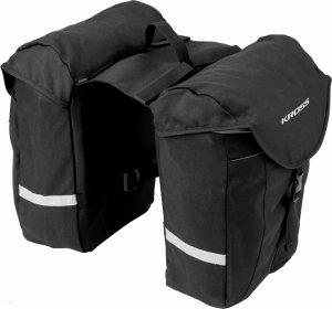 Sakwa na bagażnik KROSS ROAMER Real Bag komorowa 10L czarna