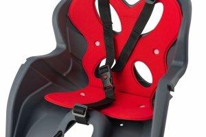Fotelik dla dziecka  KIKI DeLuxe na przód ramy, szary