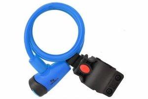 Zamknięcie spiralne na klucz 8mm x 1000mm NEXELO niebieskie