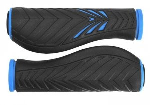 Chwyty VELO PRO-X 1133 Comfort GEL 130mm niebiesko-czarne