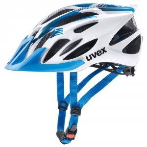 Kask UVEX FLASH white blue 53-56cm biało niebieski