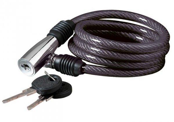 Zapięcie spiralne na klucz KELLYS Beat K-1026S 100cm czarne