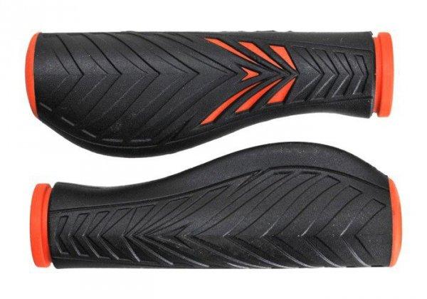 Chwyty VELO PRO-X 1133 Comfort GEL 130mm pomarańczowo-czarne