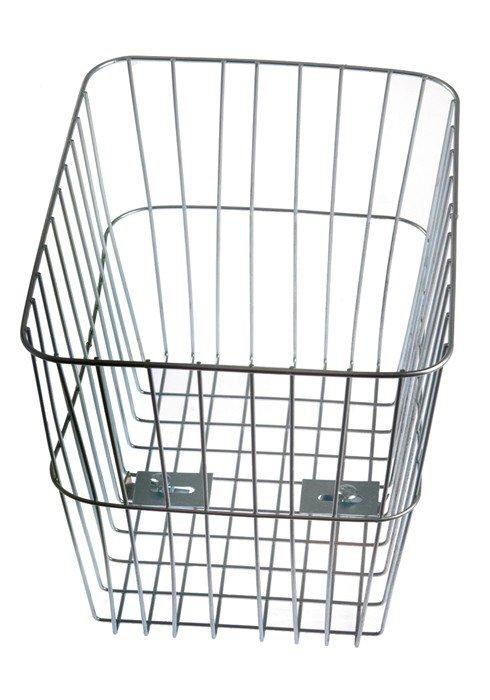 Koszyk rowerwy na bagażnik BP-4 ocynk głęboki