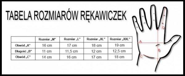 Rękawiczki KROSS Race Short 2.0 czarno-czerwone M