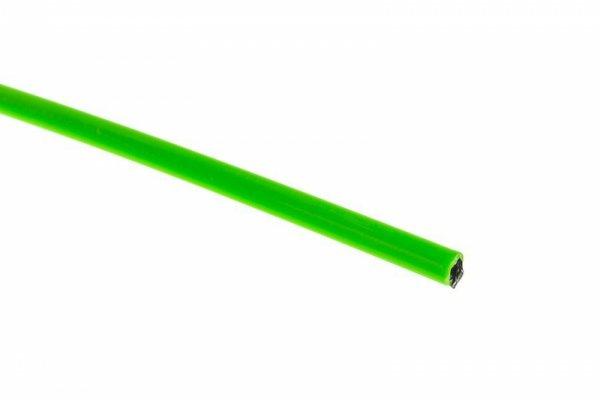 Pancerz przerzutkowy ACCENT 4mm x 3m zielony fluo