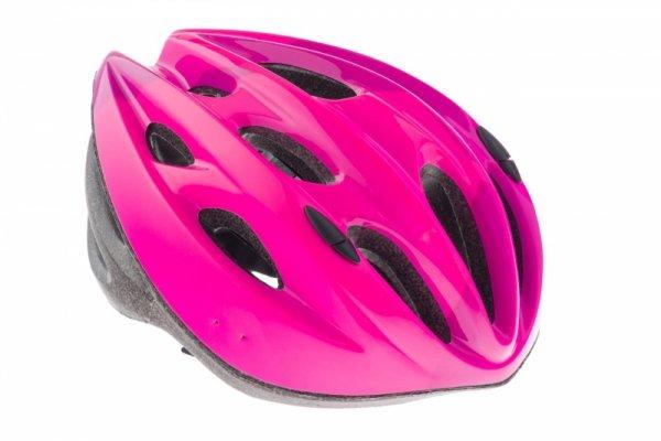 Kask KELLYS KLS BLAZE M/L 58-61cm różowo-fiolet-czar połysk 2018 /pink/