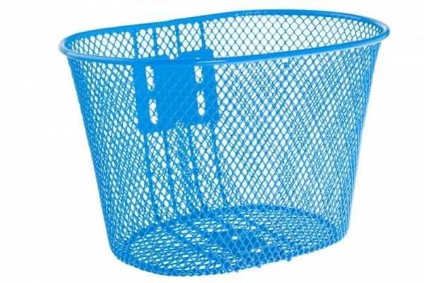 Koszyk na kierownicę dziecięcy siatka metal. HB-047-1 niebieski