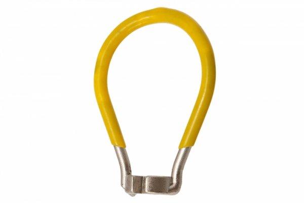 Klucz do szprych 3,3mm z magnesem, żółty