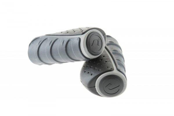 Chwyty ACCENT Comfort 3D 92mm grafitowo-czarno-szare