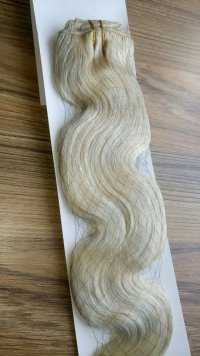 FALE Zestaw Clip-in, długość 55 cm kolor #61 - LODOWY BLOND
