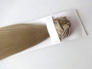 Syntetyczny zestaw Clip-in, długość 45 cm kolor #16 - Średni blond