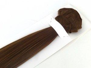 Syntetyczny zestaw Clip-in, długość 70 cm kolor #06 -  Czekoladowy Brąz