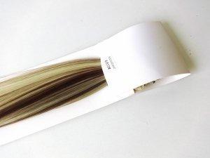 Syntetyczny zestaw Clip-in, długość 55 cm kolor #6/613 - balejaż