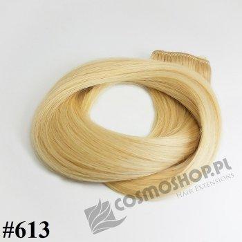 Zestaw Clip-in, długość 40 cm kolor #613 - JASNY BLOND
