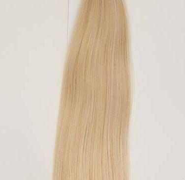 Zestaw włosów pod mikroringi, długość 40 cm kolor #22 - ŚREDNI BLOND