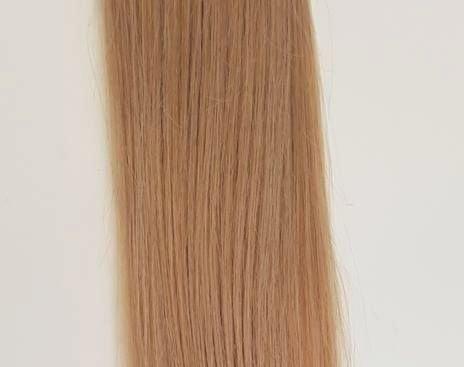 Zestaw włosów pod mikroringi, długość 55 cm kolor #14 - BURSZTYNOWY BLOND