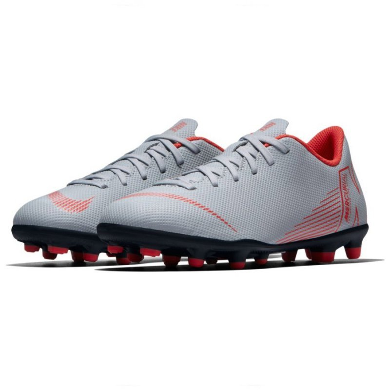 Buty Nike Jr Mercurial Vapor 12 Club GS MG AH7350 060 szary 36