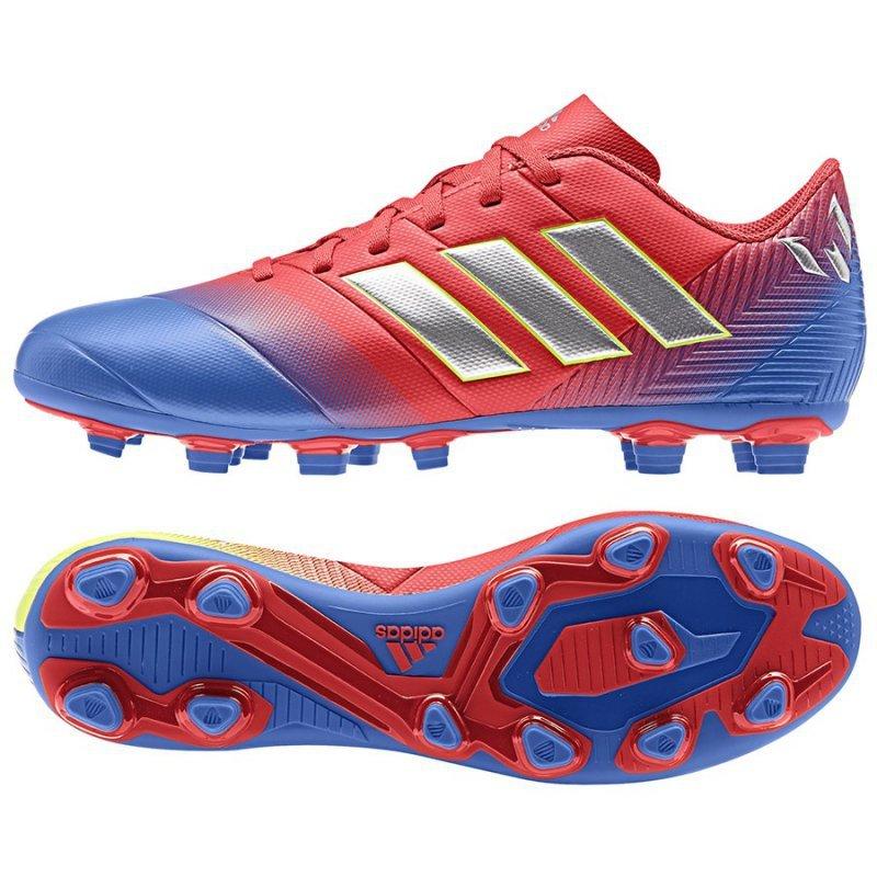 Buty adidas Nemeziz Messi 18.4 FxG D97273 niebieski 40
