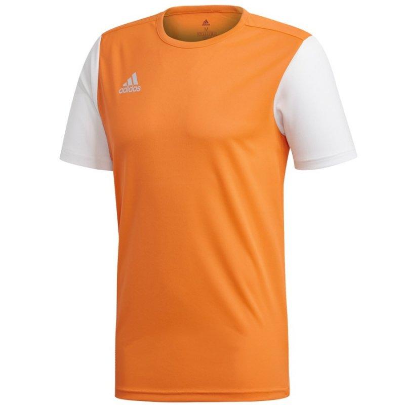 Koszulka adidas Estro 19 JSY DP3236 pomarańczowy 116 cm