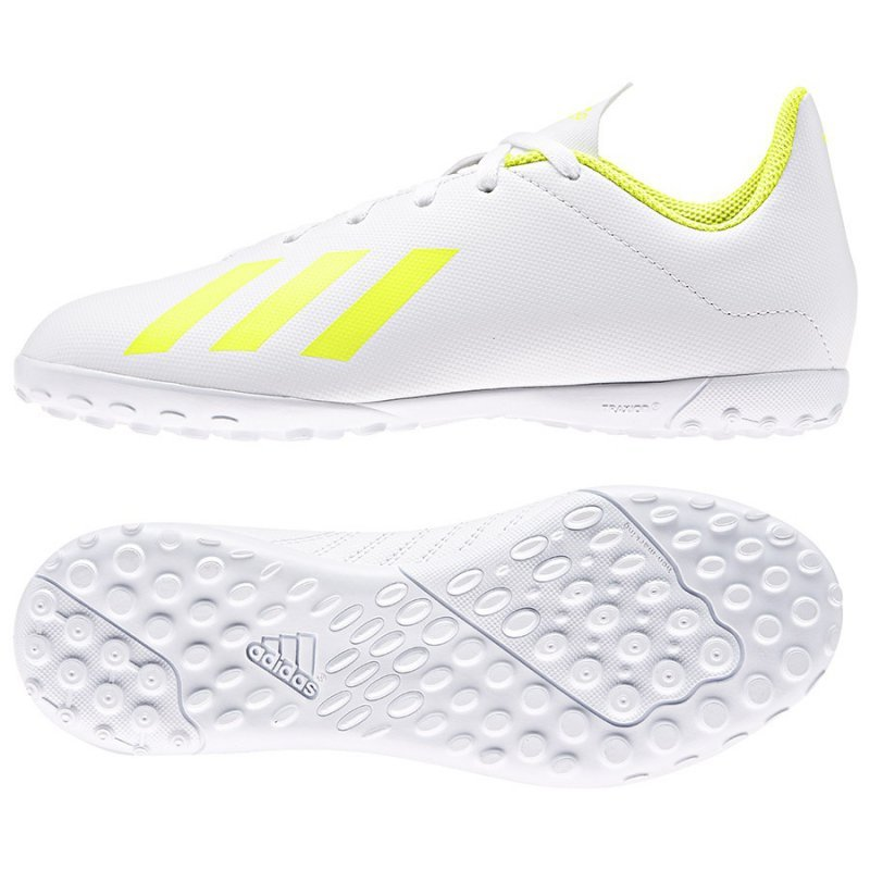 Buty adidas X 18.4 TF J BB9418 biały 30