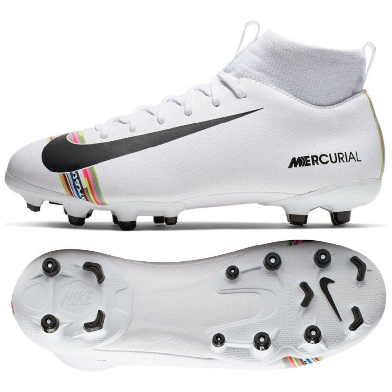 Buty Nike JR Mercurial Superfly 6 Academy GS CR7 AJ3111 109 biały 38