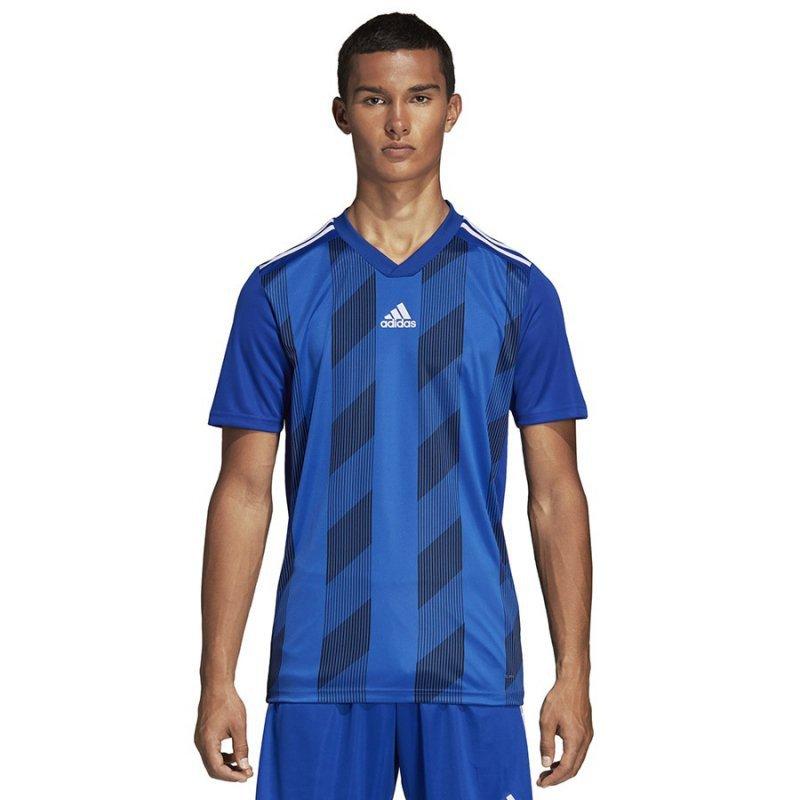 Koszulka adidas Striped 19 JSY DP3200 niebieski M