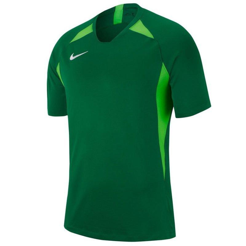 Koszulka Nike Y NK Dry Legend SS AJ1010 302 zielony XS (122-128cm)