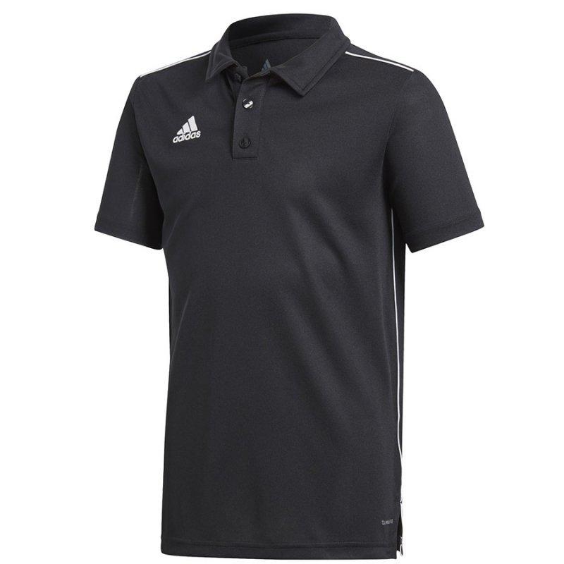Koszulka adidas Polo Core 18 Y CE9038 czarny 140 cm