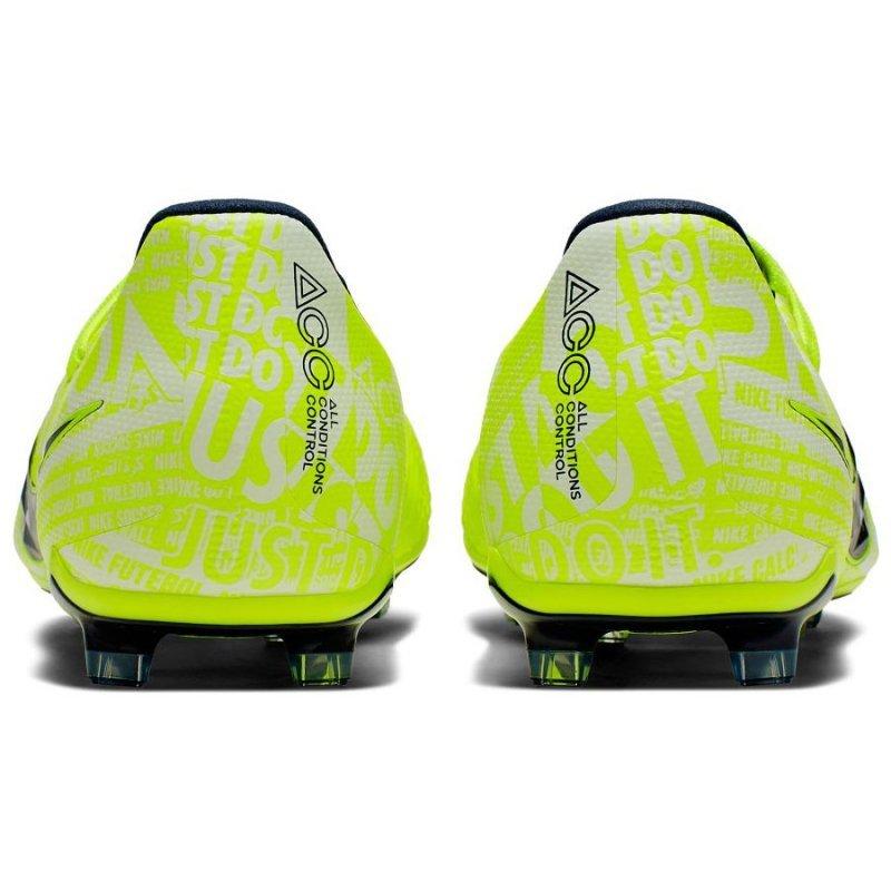 Buty Nike JR Phantom Venom Elite FG AO0401 717 żółty 38