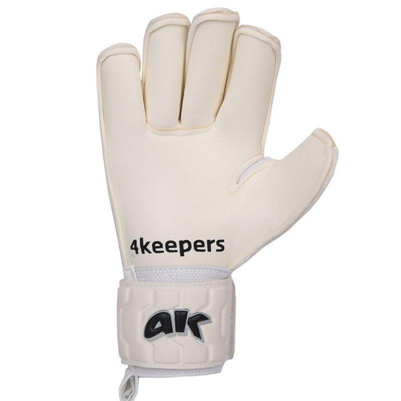Rękawice 4keepers Champ Black IV RF Junior + płyn czyszczący biały 6