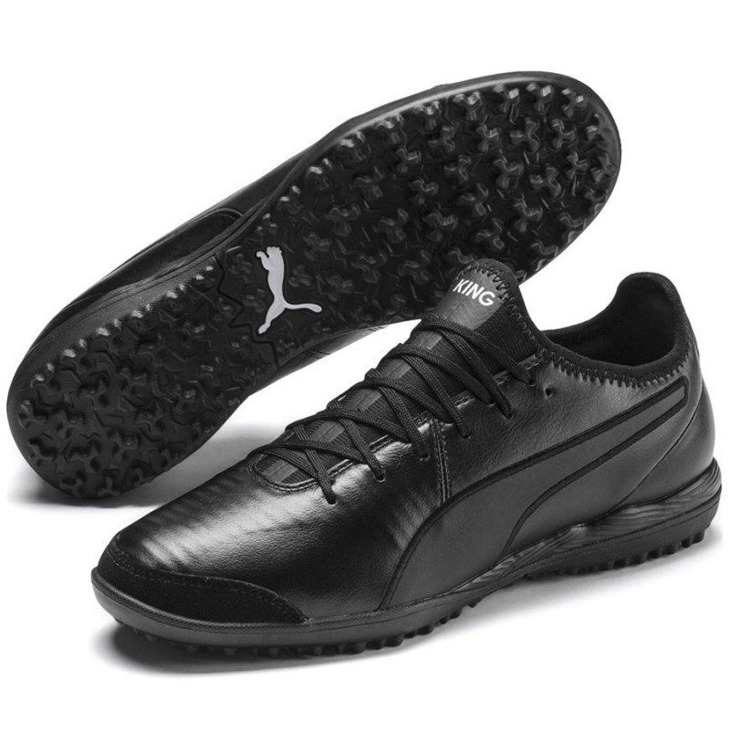 Buty Puma King Pro TT 105668 01 czarny 46