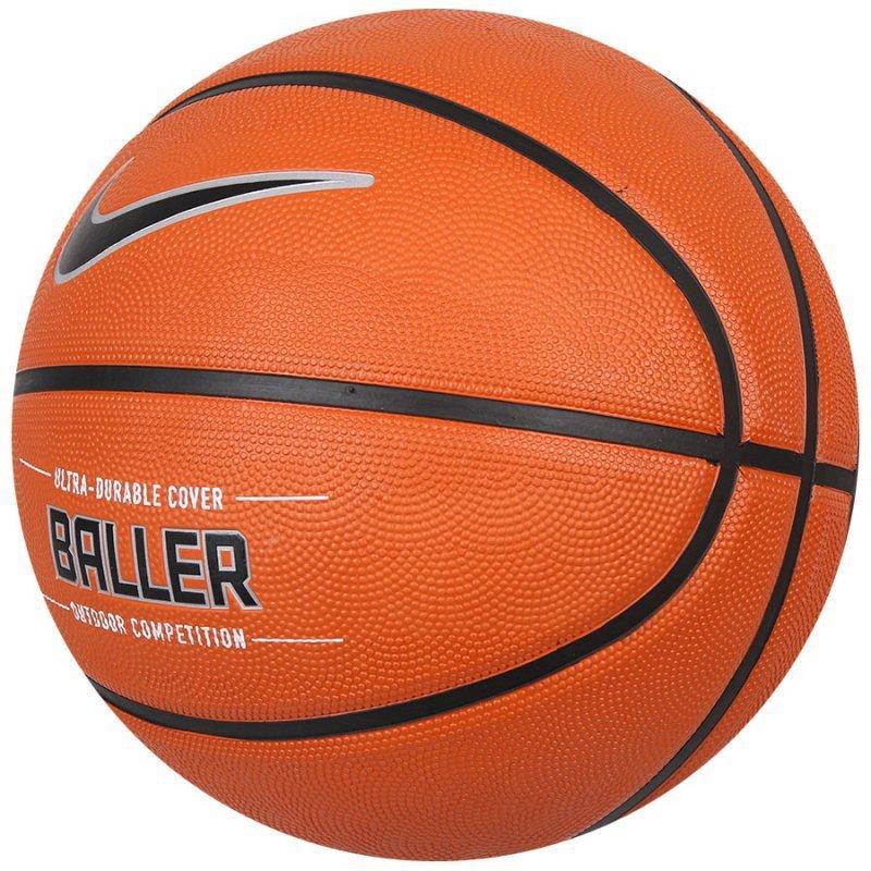Piłka koszykowa 7 Nike Baller 8P pomarańczowy