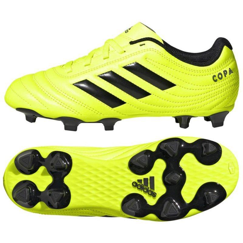 Buty adidas Copa 19.4 FG J F35461 żółty 38