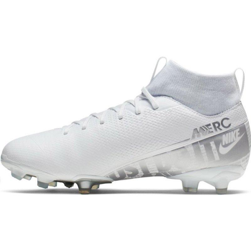 Buty Nike JR Mercurial Superfly 7 Academy FG MG AT8120 100 biały 36