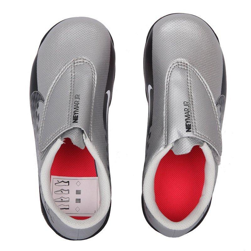 Buty Nike JR Mercurial Vapor 13 Club MG Neymar AT8164 006 szary 27 1/2