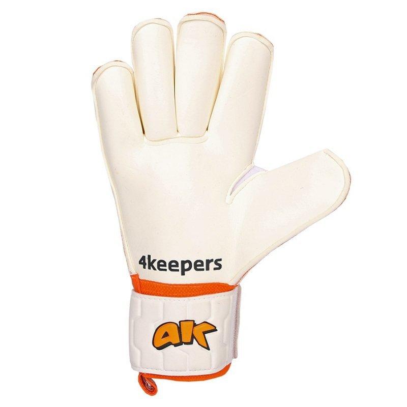 Rękawice 4keepers Champ Training IV Roll Finger S622438 biały 10