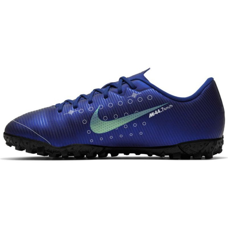 Buty Nike JR Mercurial Vapor 13 Academy MDS TF CJ1178 401 niebieski 36 1/2