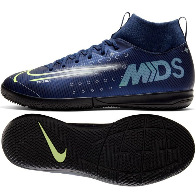 Buty Nike JR Mercurial Superfly Academy MDS IC BQ5529 401 niebieski 38 1/2
